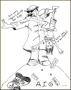 cartoon by Candace Vianna